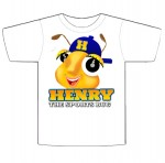 Henry The Sports Bug T Shirts